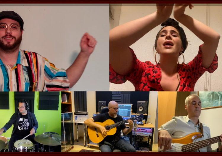 Joan Blau i Mia Fuentes presenten des del confinament el videoclip de 'La nova cançó de Sant Jordi'
