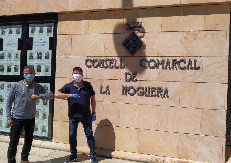La Penya Barcelonista de Balaguer dona 500 euros al Banc d'Aliments de la Noguera