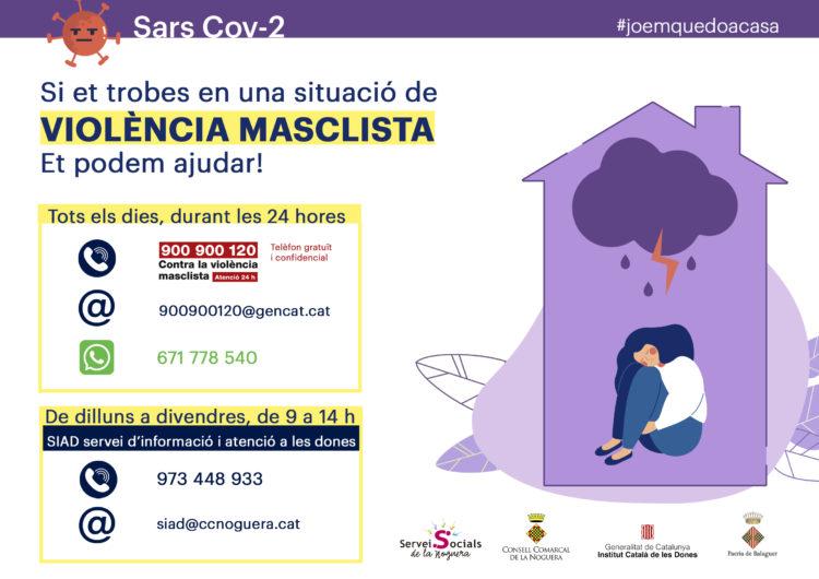 """Balaguer se suma a la campanya """"Establiment segur contra la violència masclista"""""""