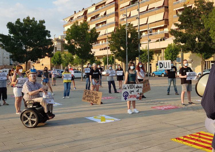 Tornen les concentracions independentistes a Balaguer