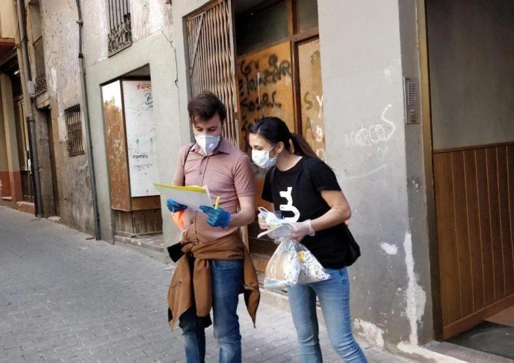 Balaguer finalitza el repartiment de més de 17.000 mascaretes