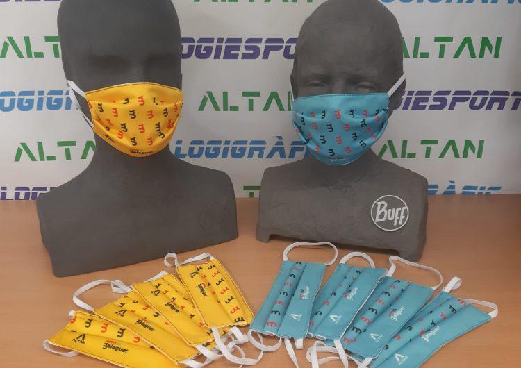 La Paeria de Balaguer repartirà a partir de dijous 20.000 mascaretes porta a porta