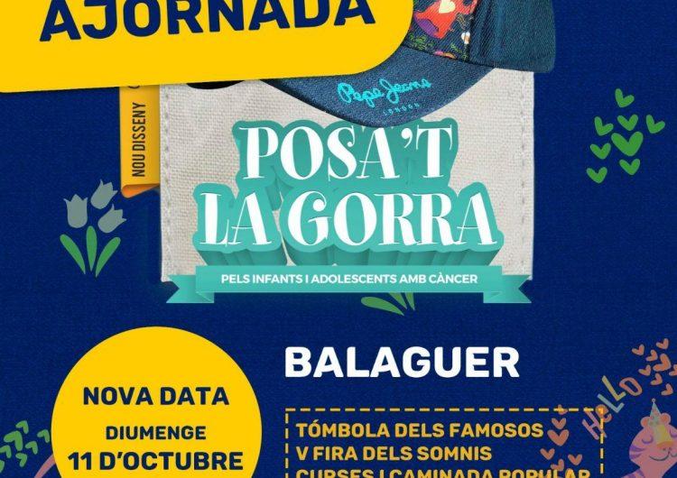 Balaguer ajorna, novament, el Posa't la Gorra a l'octubre
