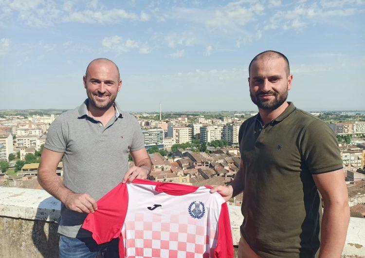 El CF Balaguer presenta David Biosca com a nou entrenador del primer equip