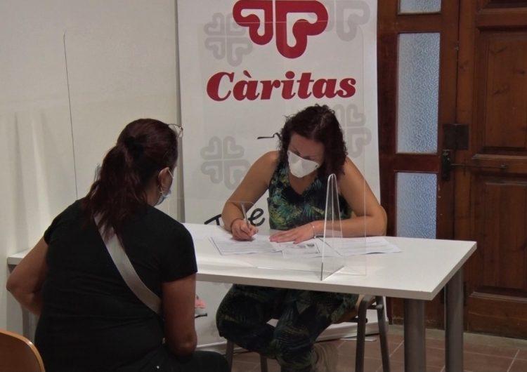 Càritas d'Urgell incrementa el nombre de famílies ateses a Balaguer des del març