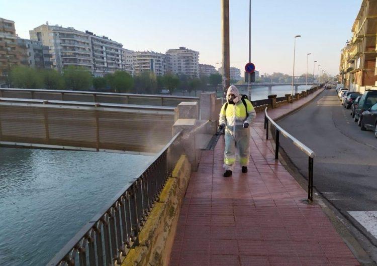 Balaguer manté la desinfecció de l'espai urbà