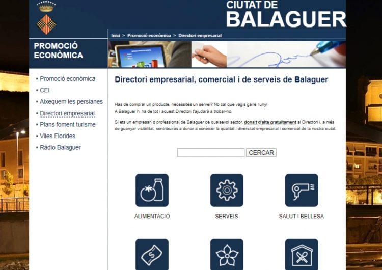 Balaguer presenta el nou Directori Empresarial