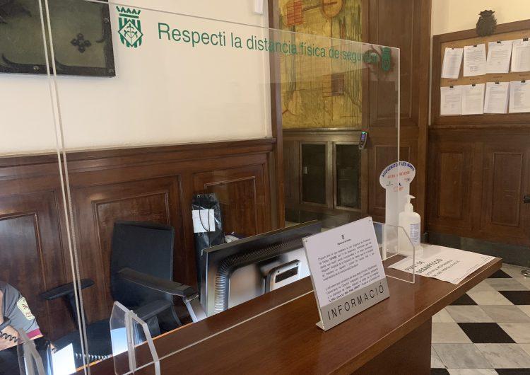 La Diputació de Lleida preveu la incorporació gradual dels treballadors amb seguretat per garantir els serveis