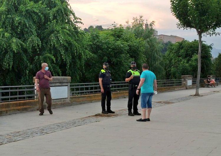 La Guàrdia Urbana de Balaguer intensifica els controls arran de l'augment de contagis
