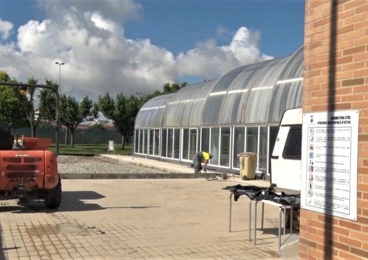 Balaguer fa una actuació a les piscines municipals tot i la incògnita de si podran obrir