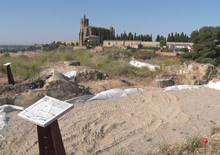 Es reprenen les obres de restauració al Castell Formós després de l'aturada pel confinament