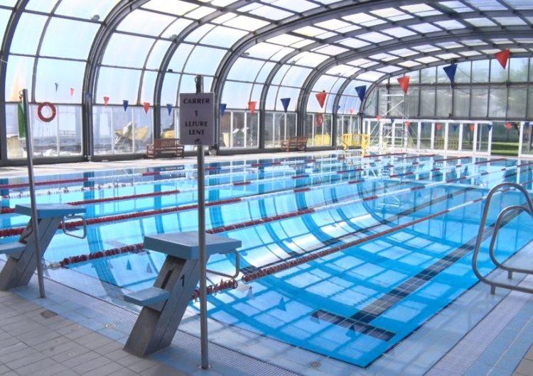 La piscina coberta municipal oberta per a ús esportiu després de 12 setmanes