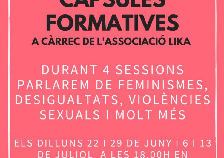 L'Oficina Jove de la Noguera inicia un cicle de sessions formatives virtuals sobre feminismes i violències sexuals