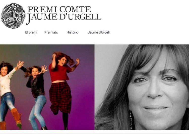 Maria del Mar Bonet i l'InfoK, guanyadors del Premi Comte Jaume d'Urgell 2020 de Balaguer