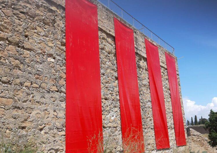 Les quatre barres tornen a lluir a la Muralla de Balaguer