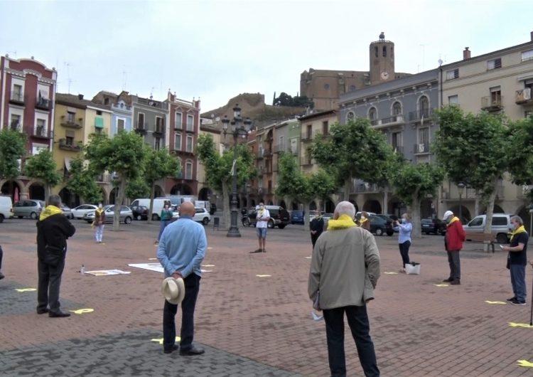 Tornen les reivindicacions del Col·lectiu Llibertat a la plaça Mercadal