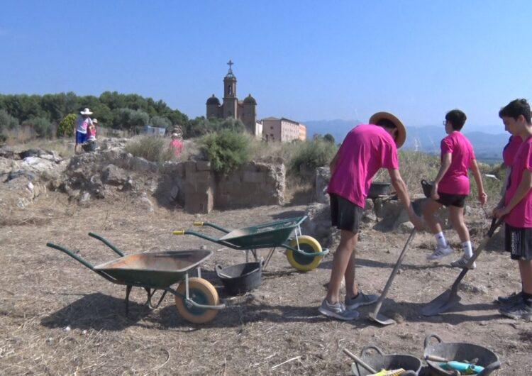 """Comencen els tallers d'arqueologia """"Cota Zero"""" al Castell Formós de Balaguer"""