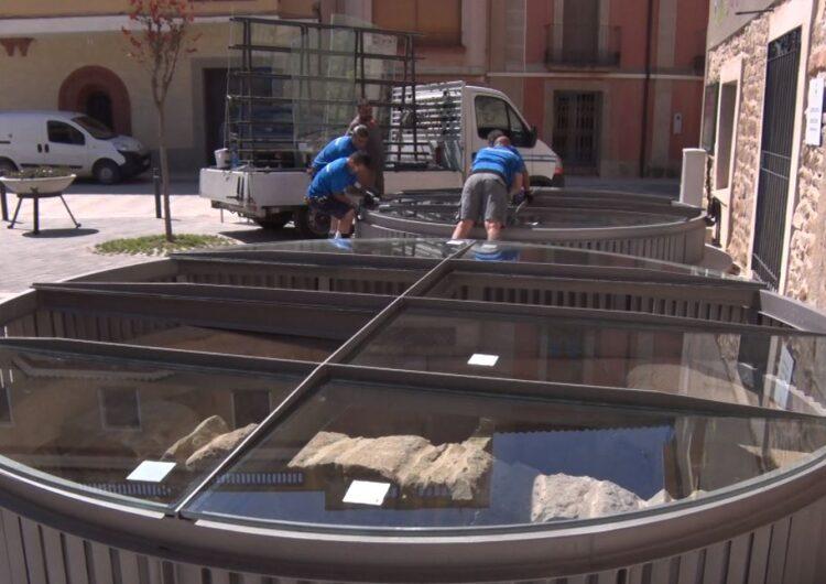 Montgai finalitza la restauració dels trulls de pedra de La Fassina