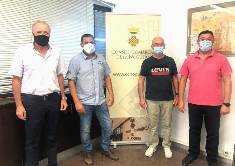 Càritas Parroquial, Creu Roja i el Consell Comarcal de la Noguera renoven el conveni de col·laboració en el projecte Àgape