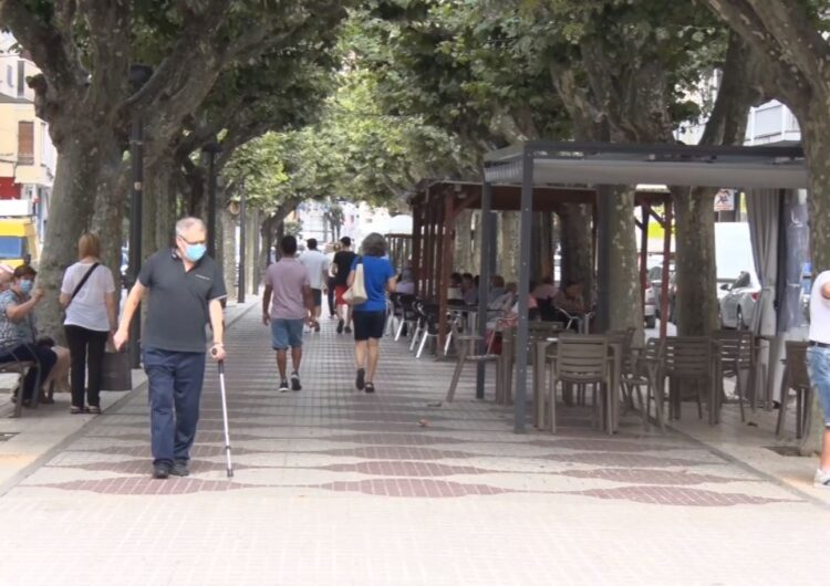 Balaguer acumula 351 casos positus però baixa la corba de contagis