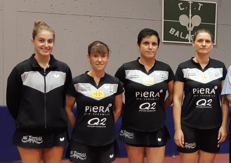 El Club Tennis Taula Balaguer torna a la Superdivisió