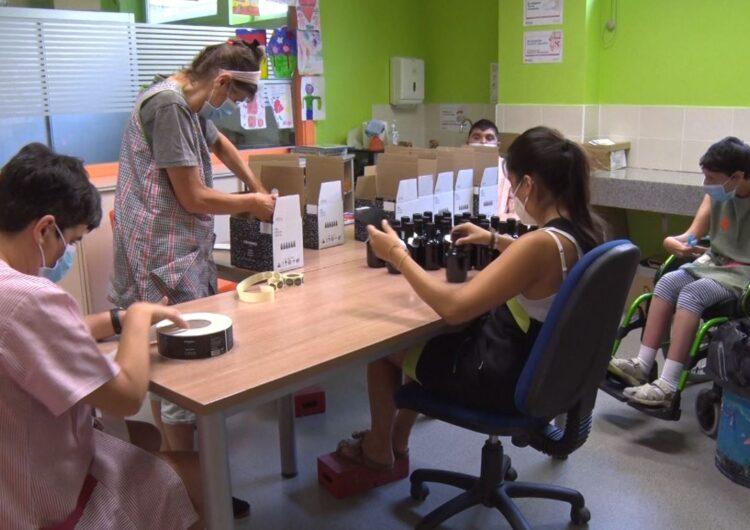 El taller ocupacional de l'Estel obre les seves portes després de 109 dies d'inactivitat