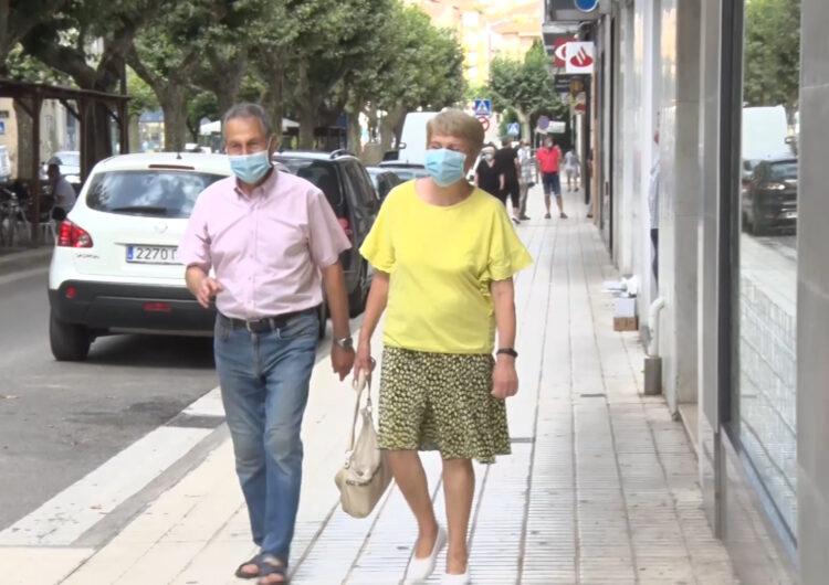 La corba de contagis a Balaguer tendeix a l'estabilització