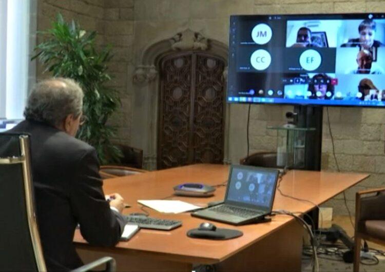 """Els alcaldes dels municipis de la Noguera agraeixen """"estar informats"""" després de la reunió amb Torra"""