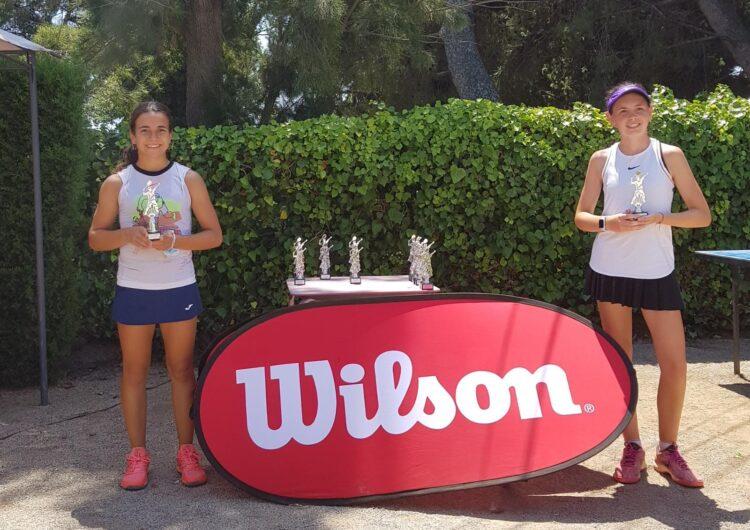 La tennista Aloma Carbonell guanya el torneig Wilson Pere Massip Estiu 2020 del Club Tennis Barcelona-Teià