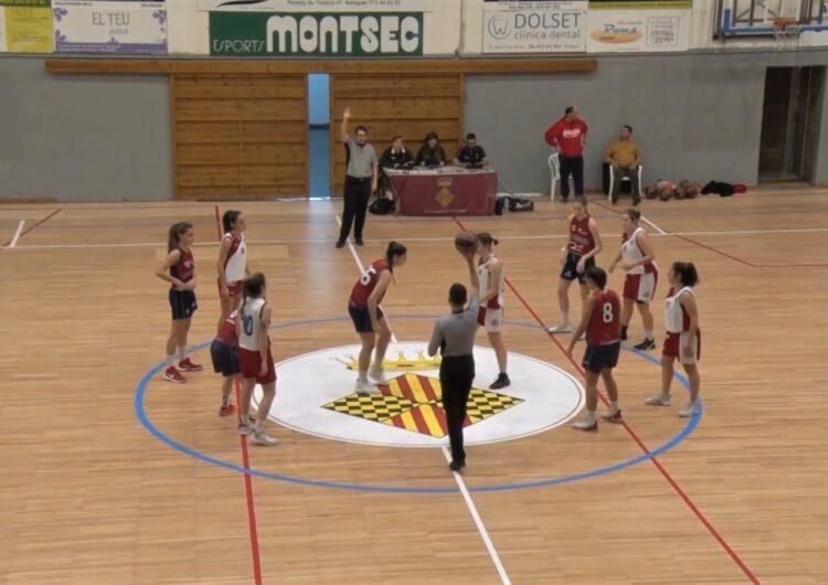 L'equip femení del CB Balaguer jugarà a la Copa Catalunya