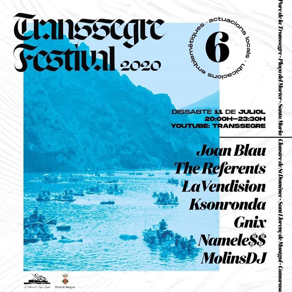 """La Transsegre organitza el """"Transsegre Festival 2020"""" per mantenir viu l'esperit de la festa"""