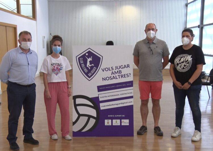 Neix el Club Voleibol Balaguer, un projecte esportiu i social femení