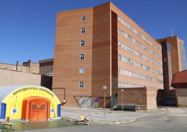 Els ingressos per Covid-19 als hospitals de la regió sanitària de Lleida continuen pujant i arriben a 89