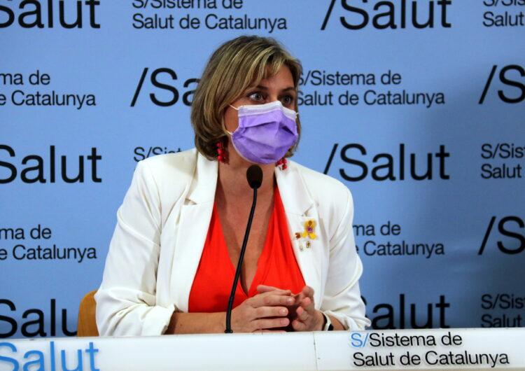 """Vergés obre la porta a modificacions a Lleida i assegura que la situació està """"molt més controlada"""" però no ha acabat"""