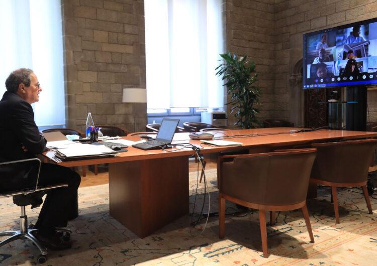 Torra anuncia consells assessors territorials del Procicat arreu del país per la crisi de la covid-19