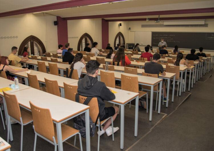 L'alumnat de primer de la UdL començarà el curs el 30 de setembre amb un 65% de presencialitat