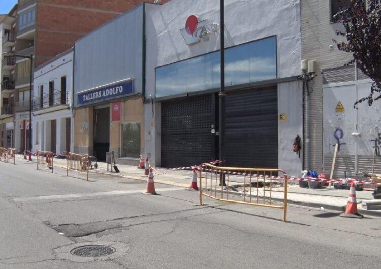 Balaguer arranja l'últim tram de vorera del carrer Noguera Pallaresa