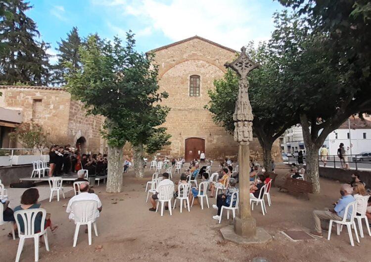 Balaguer celebra una atípica festa dels anissets de Sant Domènec
