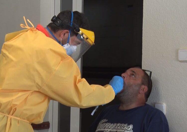 Cribratge massiu a Albesa després de l'increment de casos de coronavirus dels darrers dies