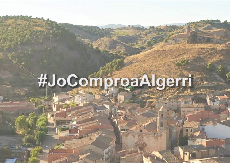 Algerri potencia el seu comerç amb un vídeo promocional