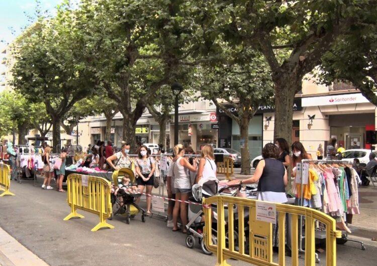 Balaguer celebra la 26a edició del Mercat de les Rebaixes d'estiu