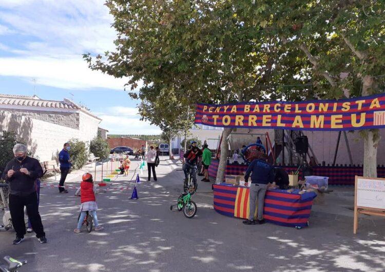 "La ""Pedalada Blaugrana"" de Torrelameu recorre 425 km"
