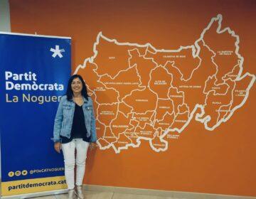 Sònia Valero, nova presidenta del Partit Demòcrata a la Noguera en substitució d'Eloi Bergós que ha marxat a JxCat