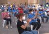 Més de 150 persones es concentren en l'acte estàtic de l'ANC per celebrar la Diada a Balaguer