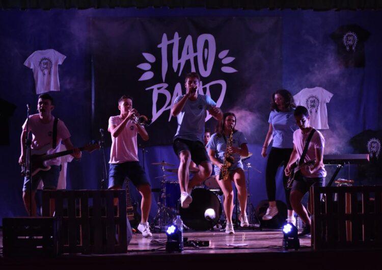 Èxit del primer concert virtual de la Hao Band