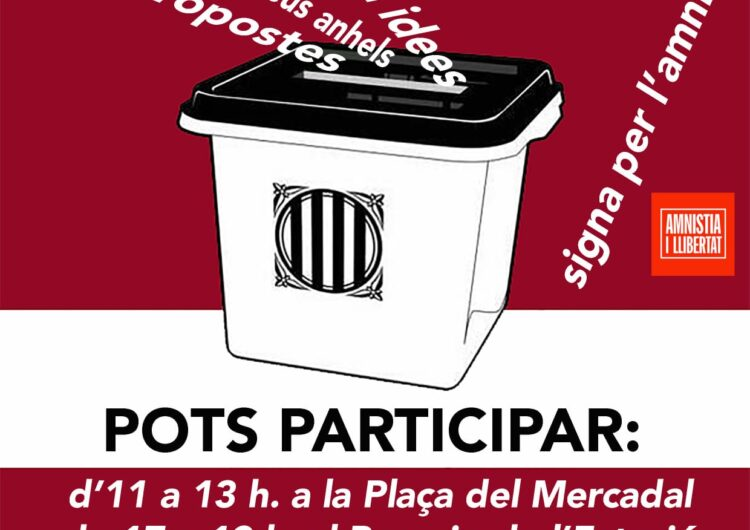 El Consell Local per la República de Balaguer commemora l'1-O amb una recollida de missatges