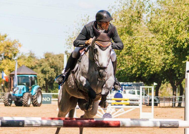Podis d'Albert Hermoso a l'internacional i final del Campionat d'Espanya de Cavalls Joves de Sevilla