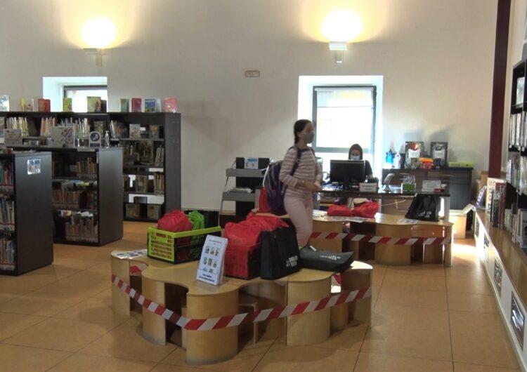 La Biblioteca Margarida de Montferrat reobre les seves portes al públic amb noves mesures de seguretat