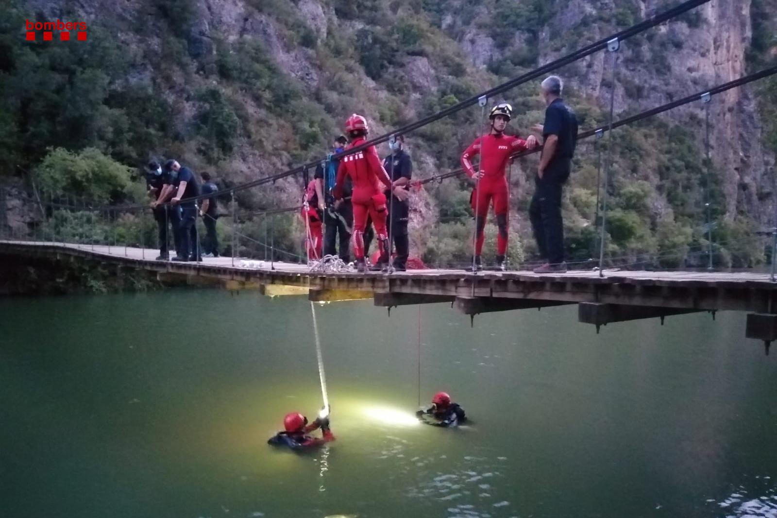 Un noi de 22 anys mor ofegat al pantà de Camarasa, a la Noguera