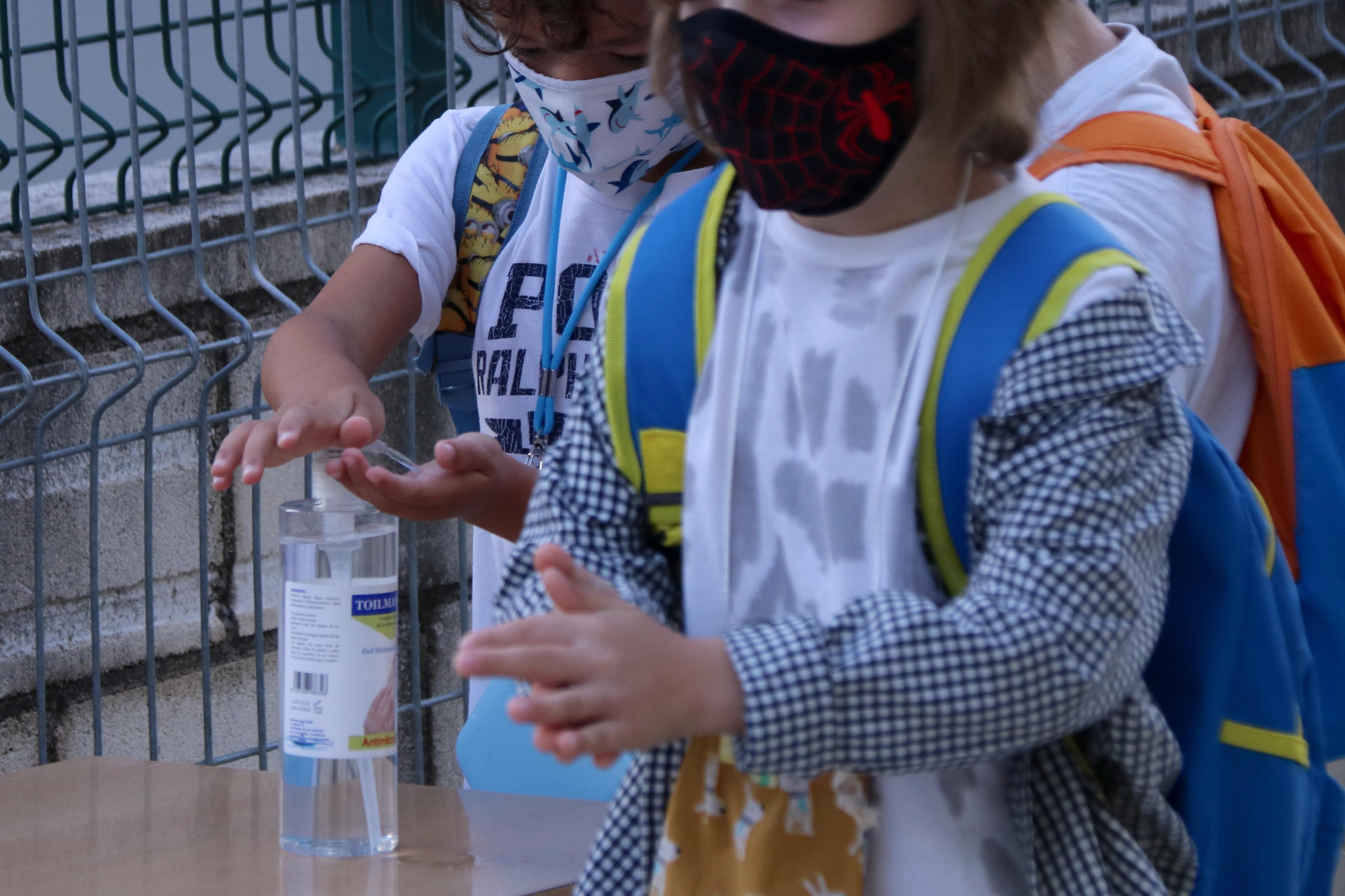 Salut efectua 372 proves PCR en el cribratge poblacional en l'entorn escolar d'Almenar